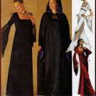 Women's Gothic Renaissance Gown and Cape Size 10-14 Uncut McCall's 2810 Elvira Vampire Dark Romantic