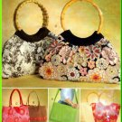 Funky Chic Bags Purses McCall's Sewing Pattern 4323 Crossbody Messenger Bag Handbag Tote Crafts