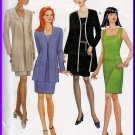 Simple and Classy Dress Suit Size 20-24 Uncut McCall's 9170 Elegant Sleeveless Dress Cardigan Jacket
