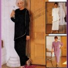 Asymmetrical Tunic Skirt and Pants Outfit Size 22 Uncut McCall's 9288 Mod Understated Elegant Chic