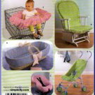 Baby Accessories Home Dec Protective Covers Simplicity Sewing Pattern 4636 Stroller Car Seat Basket