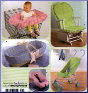 Car Seat Canopy/Cover Crochet Pattern - Yarn & Hook
