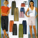 Easy Drawstring Shorts Pants and Capris All Sizes Uncut Simplicity 7092 Simple Casual Sporty Basic