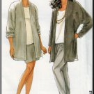 Pull-on Pants Skirt Cardigan Jacket All Sizes Uncut Simplicity 7406 Essential Relaxed Chic Separates