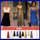 Design Your Own Evening Gown Size 16-20 Uncut Simplicity 7510 Trendy Sexy Empire Waist Flared Skirt