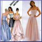 2-piece Dress Bustier Top and Puffy Skirt Size 12-16 Uncut Simplicity 8499 Sweet Evening Formal Ball