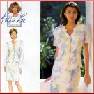 Refined Elegant 2-Piece Dress Sz 6-10 Uncut Simplicity 9613 Kathie Lee Collection Scallop Hem Jacket