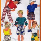 Children&#39;s Easy-to-sew Pull-on Bottoms Sz L Uncut Simplicity 7534 Elastic Jams Bermuda Shorts Pants