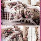 Country Cottage Meadow Bedroom Set Butterick Sewing Pattern 6370 Waverly Shams Duvet Dust Ruffle