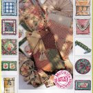 Pillow Cushion Essentials Home Decorating McCall's Sewing Pattern 8661 Ruffled Trim Circle Shams