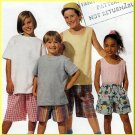 Easy Sew Children's Elastic Shorts Sz L McCall's Sewing Pattern 7017 Pull-on Beginner Basic 1-Hour