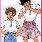 CUT Retro 80s Girl's Jeans Skirt Sz 8-14 Kwik Sew 1792 Cute Vintage Bubblegum Pop Style Funky Denim