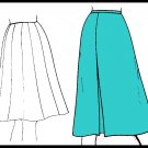 Timeless Classic Ladylike  Women's Skirt Sz 10-18 Uncut Basic Knits 105 A-Line Gored Pleated Skirt