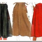 80s Secretary Flared Skirt Sz M McCall's Sewing Pattern 8107 Retro Indie Professional Schoolteacher
