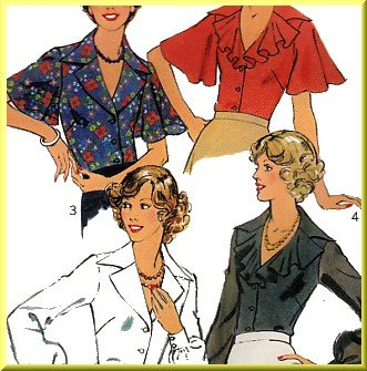 Misses Frilly Blouses 15
