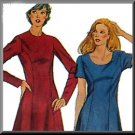 Timeless Princess Seams Dress Sz 10 Simplicity Sewing Pattern 5164 Knee Length Retro Style