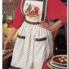 Festive Holiday Christmas Accessories Simplicity Sewing Pattern 8214 Table Cloth Tote Bag Apron