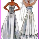 Formal Evening Lingerie Undergarments Sz 8-14 McCall's Sewing Pattern 4109 Petticoats Bustier Corset