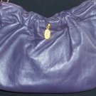 80s Teeny Bopper Purple Leather Purse Retro Stylish Bubblegum Handbag by Mastercraft Made in Canada