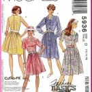 McCall's Sewing Pattern 5936 Sz 12-16 Misses' Retro 90s Flared Shirtdress Button Front Shirtwaister