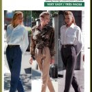 Butterick Sewing Pattern 4250 Sz 12-16 Misses' Classic Trousers Tapered Pleats Fly Front Dress Pants
