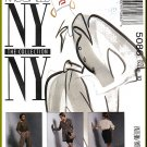 McCall's Sewing Pattern 5086 Sz 10 Misses' NY Collection 90s Loose Top Wide Leg Pants Blazer Skirt