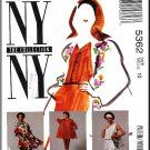 McCall's Sewing Pattern 5362 Sz 10 Misses' NY Collection Retro 90s Trapeze Coat Dress Top Skirt Pant