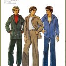 Vintage Style Sewing Pattern 2277 Sz 36 Men's Parka Hooded Coat Jacket Pants Trousers Waistband Fly