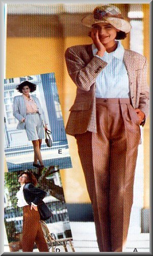 Sewing Step-By-Step Pattern 012-052-107 Pants Walking Shorts Sz 4-22 Misses' Tailored Trousers
