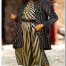Sewing Step-By-Step Pattern 012-052-161 Culotte Ensemble Sz 4-22 Misses' Swing Coat Top Split Skirt