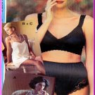 Sewing Step-By-Step Pattern 012-052-116 Lingerie Sz 4-22 Misses' Undergarments Panties Bra Teddy