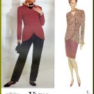 Vogue Sewing Pattern 2764 Size 20-24 Misses' Anne Klein Suit Tapered Slim Skirt Pants Shaped Jacket