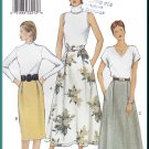 Vogue Sewing Pattern 7432 Size 14-18 Misses' Skirts 3 Styles Knee Straight Full Ankle Calf Length