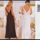 Butterick Sewing Pattern 5419 Size 6-10 Misses Bias Evening Gown Drape Cowl Neck V-Backless