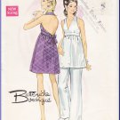 CUT Vintage Butterick Sewing Pattern 5512 Size 10 Misses' Halter Dress Empire Bodice Flared Pants