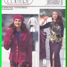 Burda Sewing Pattern 4143 Size 10-20 Misses' Classic Coordinates Jacket Skirt Shorts Vest Waistcoat