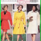 Butterick Sewing Pattern 6355 Size 6-10 Misses' Trench Coats Slim Pencil Skirt Trapeze Swing Coat