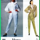 Vogue 2598 Sewing Pattern Sz 6-10 Misses' Hooded Jumpsuit Montana Avant Garde 90s One-Piece Ski Suit