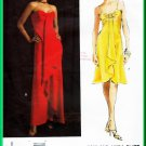 Vogue 2847 Sewing Pattern Sz 6-10 Misses' Evening Dress Tom and Linda Platt Designer Flared Gown