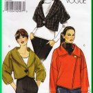 Vogue 8522 Sewing Pattern Size 8-16 Misses' Cropped Jackets Kimono Sleeves Avant Garde Shawl Collar