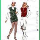 Kwik Sew 2327 Sewing Pattern Sz XS-XL Misses' Pant Vest Horse Riding Jockey Tights Waistcoat Jodphur