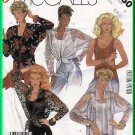 McCall's 2260 Vintage Sewing Pattern Sz 6-10 Misses Shirt Camisole Twinset Tie-front Blouse Tank Top