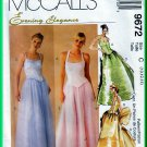 McCall&#39;s 9672 CUT Sewing Pattern Sz 12 Misses&#39; Princess Bustier Evening Puffy Full Ballgown Skirt