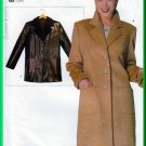 Vogue 9752 CUT Sewing Pattern Sz M (12-14) Misses' Blazer Coat Notched Collar Tailored Winter Coat