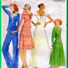 Butterick 4656 CUT Vintage Sewing Pattern Sz 8 Misses' Knit Top Dress Skirt Pants Basics Casual Chic