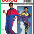 Burda Sewing Pattern 4202 One Sz Men's Women's Unisex Sweatsuit Tracksuit Casual Sporty Jacket Pants