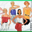 Butterick 3193 Vintage Sewing Pattern Sz 16 Classic Camisole Pullover Tank Top Spaghetti Strap Shirt