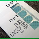 OPI Nail Polish Stickers Fishnet AP110 Sexy Blue Diamond Fashion Pattern Real Lacquer
