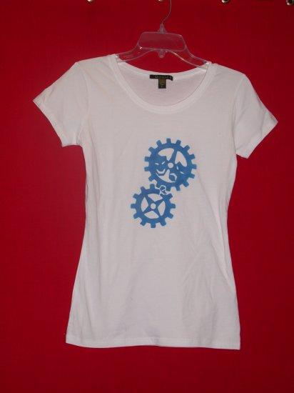 Women's Tee - White/Blue