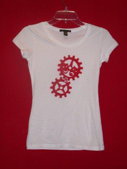 Women's Tee - White/Red